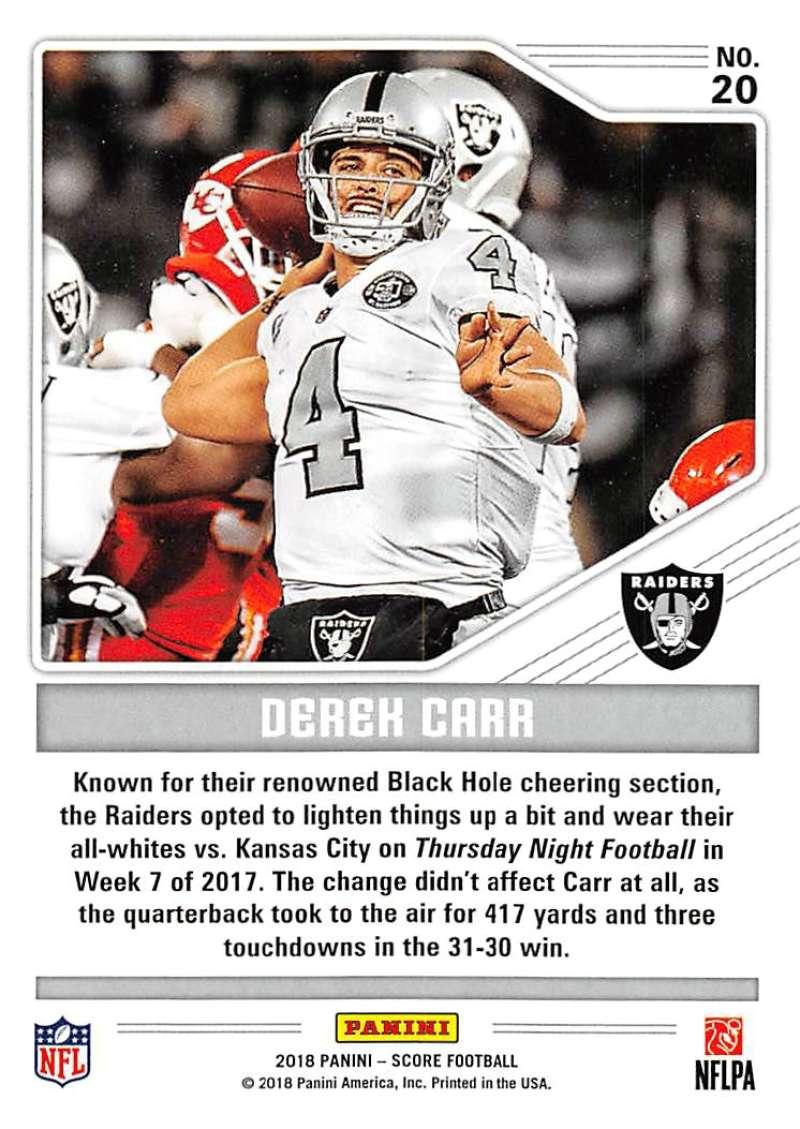 2018-Score-NFL-Football-Insert-Pick-Your-Cards-Lot-Finish-Set thumbnail 139