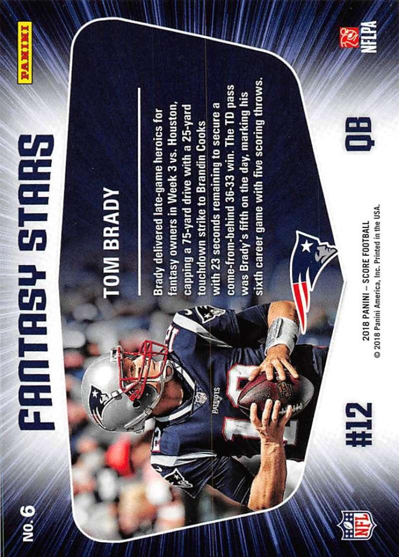 2018-Score-NFL-Football-Insert-Pick-Your-Cards-Lot-Finish-Set thumbnail 151