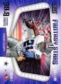 2018 Score Fantasy Stars #11 Ezekiel Elliott Dallas Cowboys Football Card