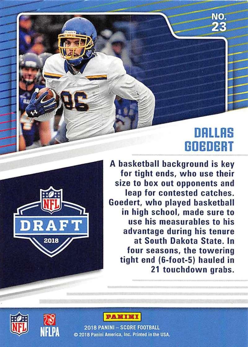 2018-Score-NFL-Football-Insert-Pick-Your-Cards-Lot-Finish-Set thumbnail 219