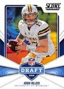 2018 Score NFL Draft #5 Josh Allen Wyoming Cowboys Rookie RC Football Card