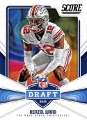 2018 Score NFL Draft #11 Denzel Ward Ohio State Buckeyes Rookie RC Football Card