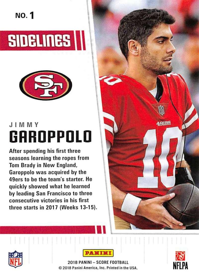 2018-Score-NFL-Football-Insert-Pick-Your-Cards-Lot-Finish-Set thumbnail 265