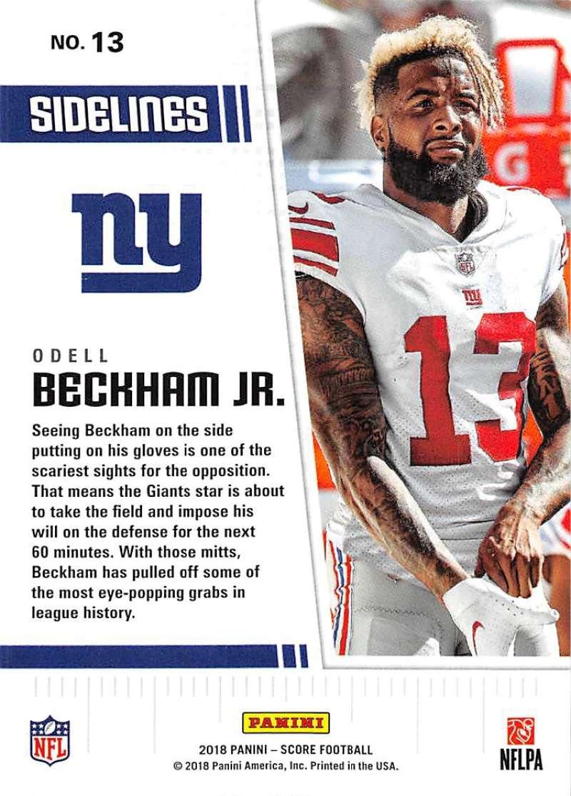 2018-Score-NFL-Football-Insert-Pick-Your-Cards-Lot-Finish-Set thumbnail 289