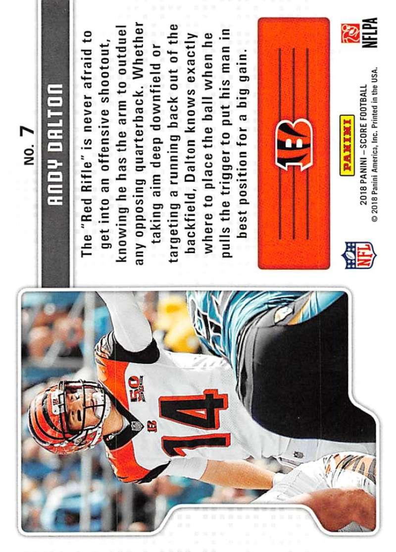 2018-Score-NFL-Football-Insert-Pick-Your-Cards-Lot-Finish-Set thumbnail 315