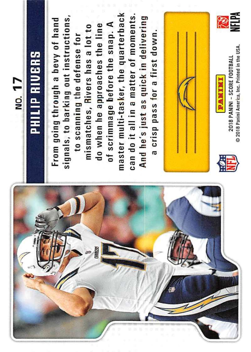 2018-Score-NFL-Football-Insert-Pick-Your-Cards-Lot-Finish-Set thumbnail 333