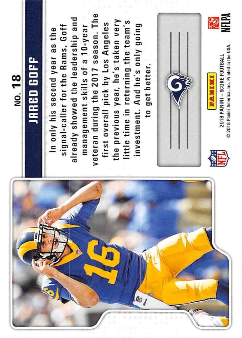 2018-Score-NFL-Football-Insert-Pick-Your-Cards-Lot-Finish-Set thumbnail 335