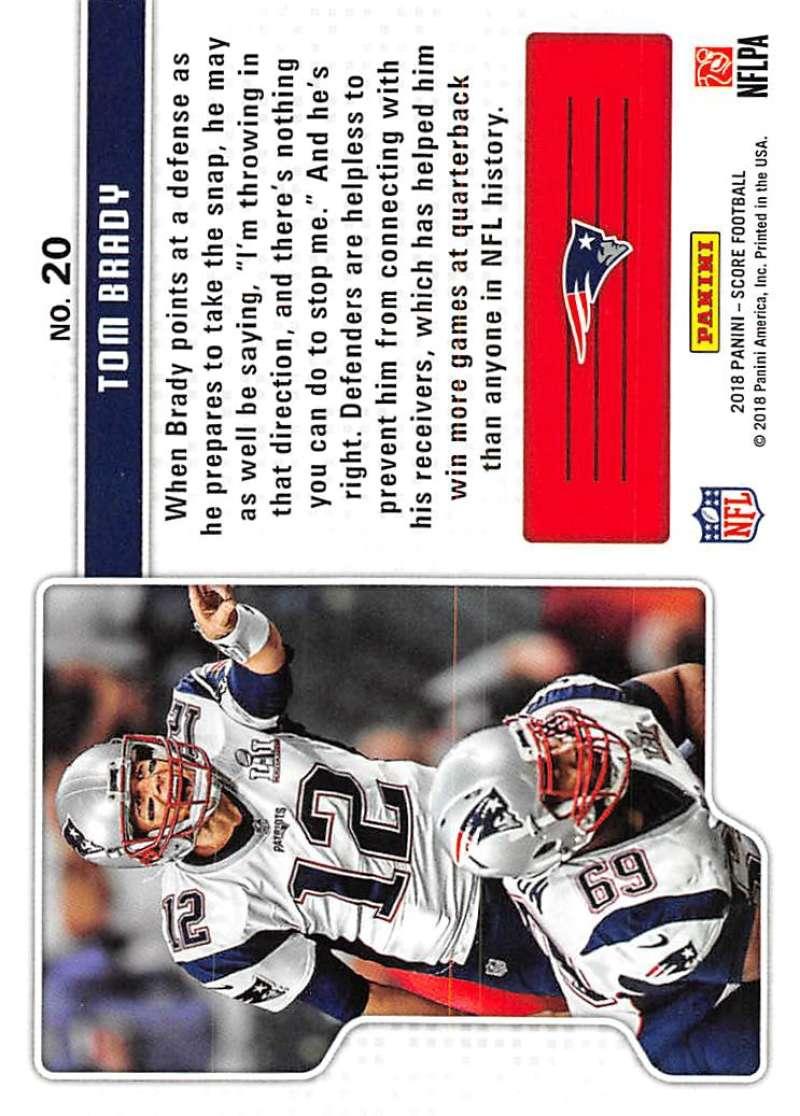 2018-Score-NFL-Football-Insert-Pick-Your-Cards-Lot-Finish-Set thumbnail 339