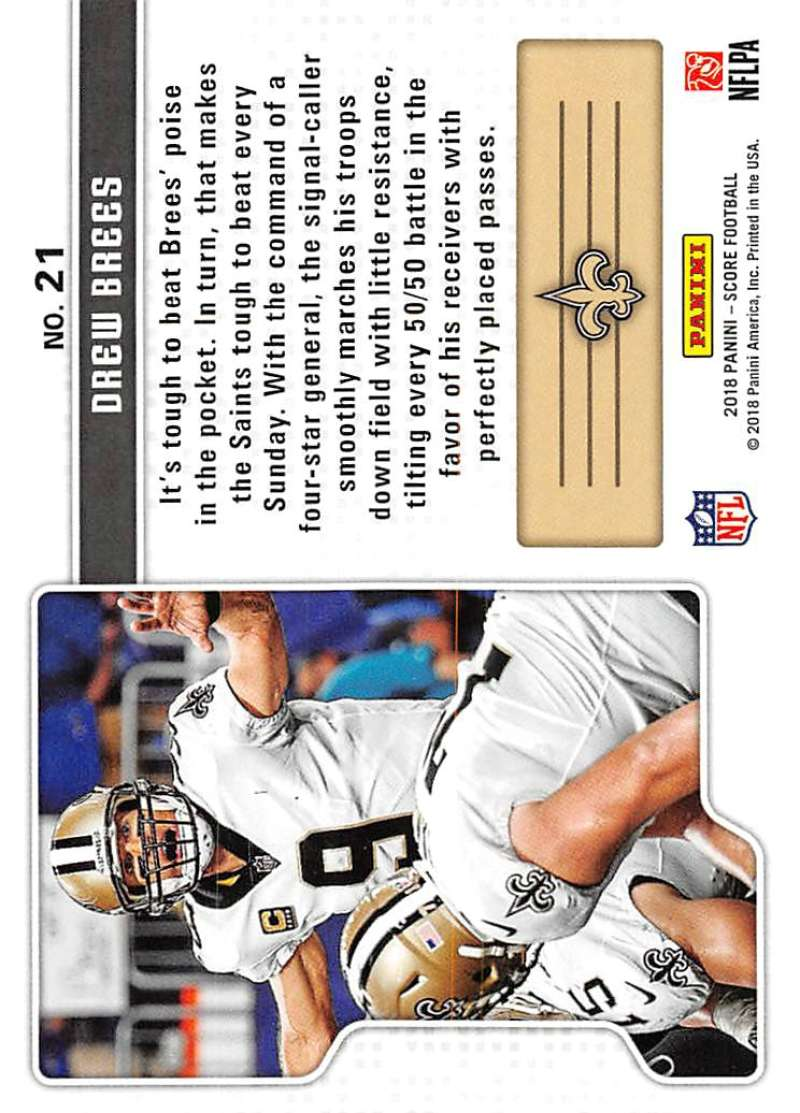 2018-Score-NFL-Football-Insert-Pick-Your-Cards-Lot-Finish-Set thumbnail 341