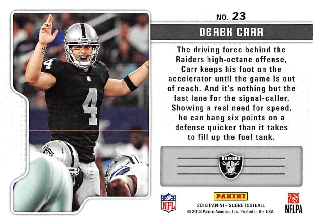 2018-Score-NFL-Football-Insert-Pick-Your-Cards-Lot-Finish-Set thumbnail 345