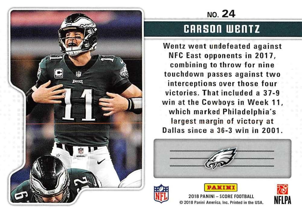 2018-Score-NFL-Football-Insert-Pick-Your-Cards-Lot-Finish-Set thumbnail 347