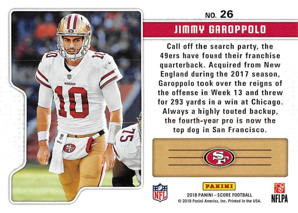 2018-Score-NFL-Football-Insert-Pick-Your-Cards-Lot-Finish-Set thumbnail 351
