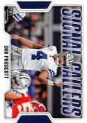 2018 Score Signal Callers #9 Dak Prescott Dallas Cowboys Football Card