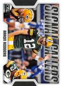 2018 Score Signal Callers #11 Aaron Rodgers Green Bay Packers Football Card