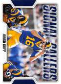 2018 Score Signal Callers #18 Jared Goff Los Angeles Rams Football Card