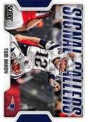 2018 Score Signal Callers #20 Tom Brady New England Patriots Football Card