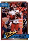 2018 Classics Football #49 Patrick Mahomes II Kansas City Chiefs Panini NFL Card