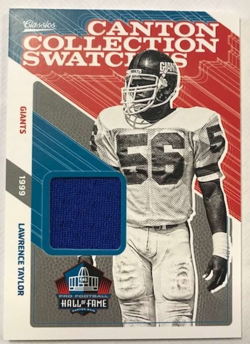 2018 Panini Classics Canton Collection Swatches