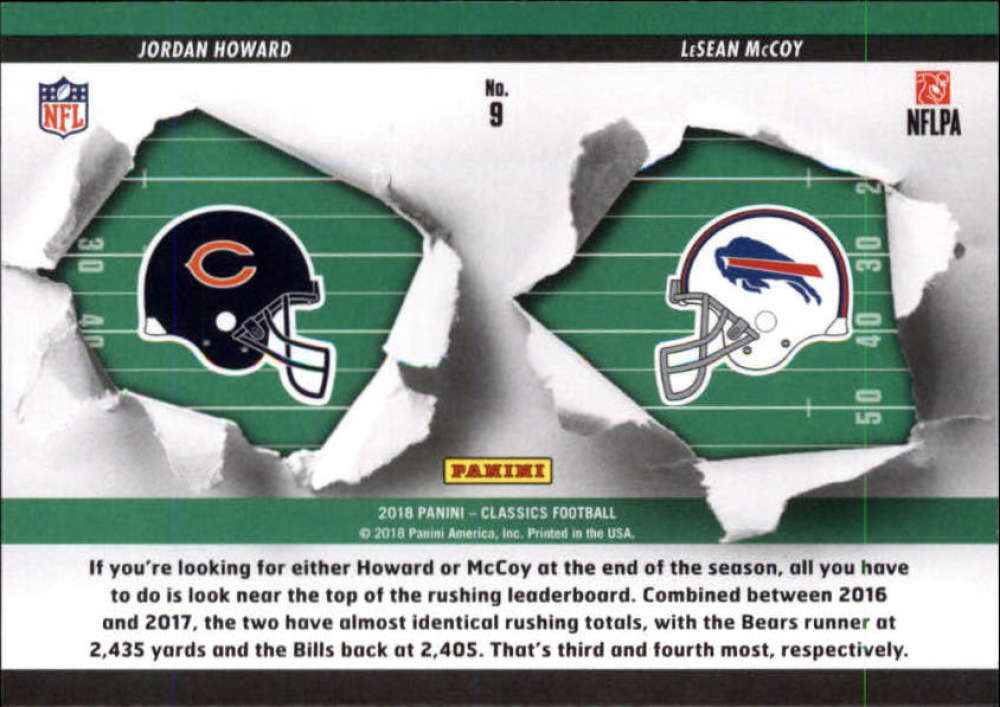 2018-Panini-CLASSICS-Football-Inserts-and-Parallels-Pick-Your-Cards-Make-Own-Lot thumbnail 21