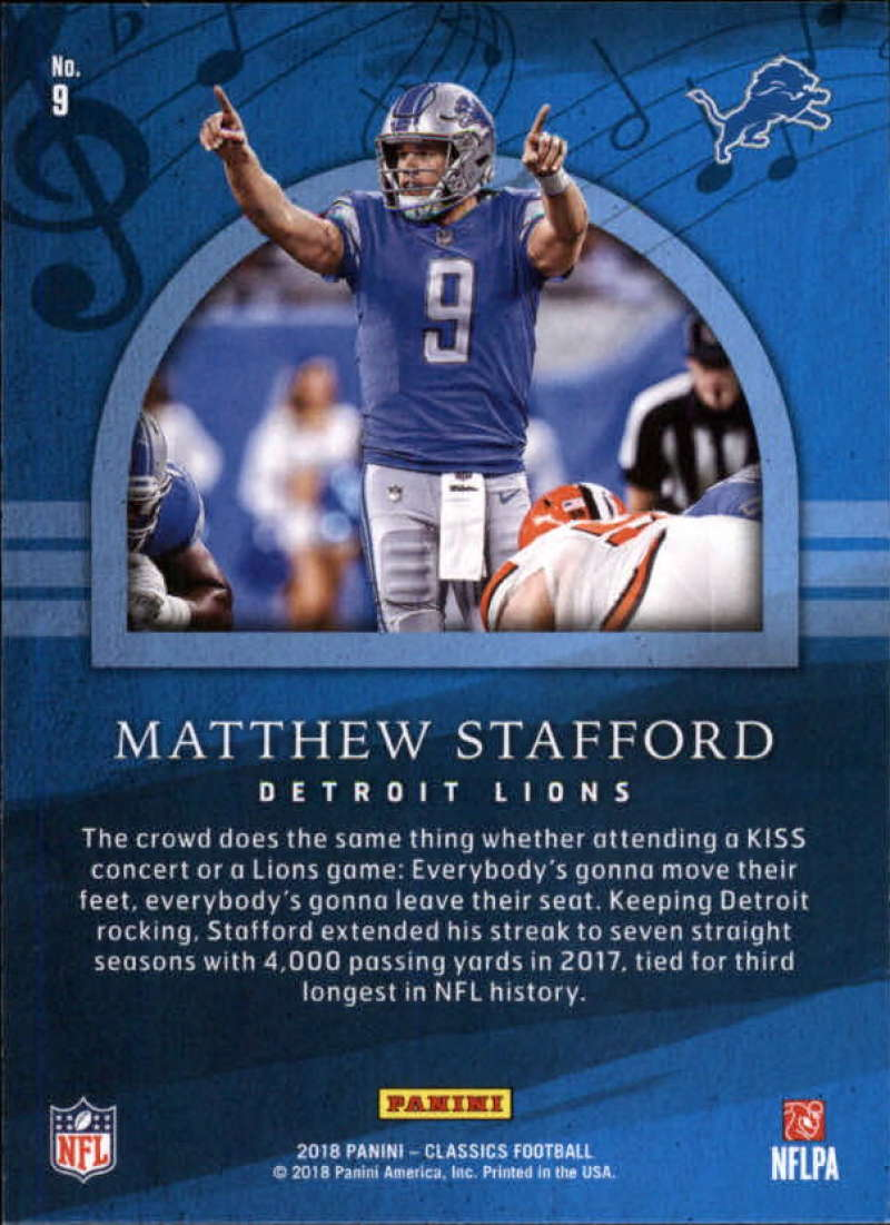 2018-Panini-CLASSICS-Football-Inserts-and-Parallels-Pick-Your-Cards-Make-Own-Lot thumbnail 45