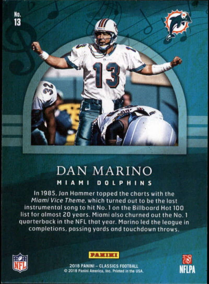 2018-Panini-CLASSICS-Football-Inserts-and-Parallels-Pick-Your-Cards-Make-Own-Lot thumbnail 52