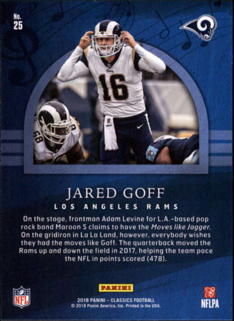 2018-Panini-CLASSICS-Football-Inserts-and-Parallels-Pick-Your-Cards-Make-Own-Lot thumbnail 66