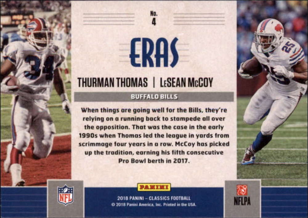 2018-Panini-CLASSICS-Football-Inserts-and-Parallels-Pick-Your-Cards-Make-Own-Lot thumbnail 78