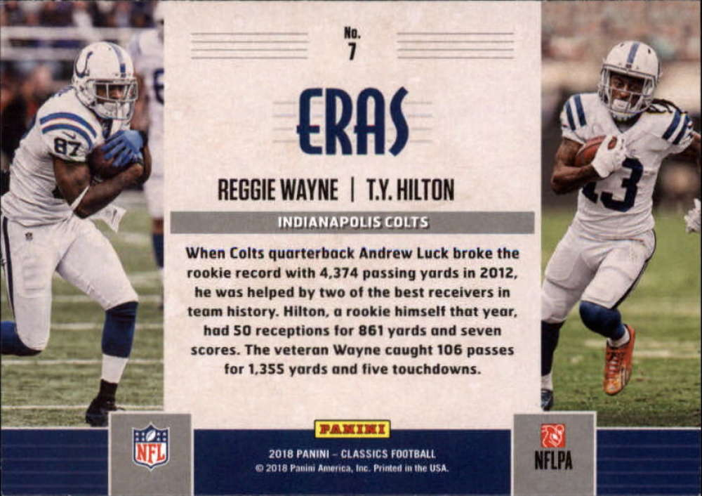 2018-Panini-CLASSICS-Football-Inserts-and-Parallels-Pick-Your-Cards-Make-Own-Lot thumbnail 84