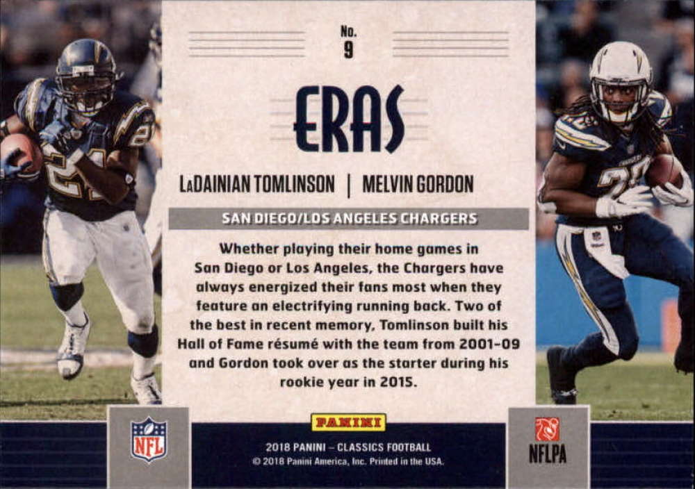 2018-Panini-CLASSICS-Football-Inserts-and-Parallels-Pick-Your-Cards-Make-Own-Lot thumbnail 86