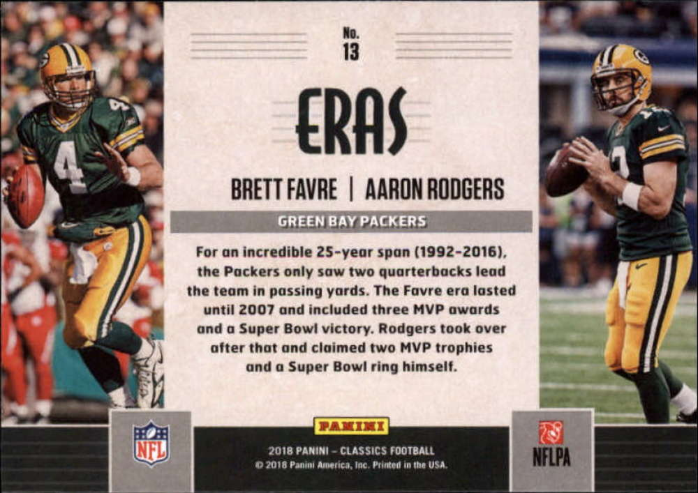 2018-Panini-CLASSICS-Football-Inserts-and-Parallels-Pick-Your-Cards-Make-Own-Lot thumbnail 91