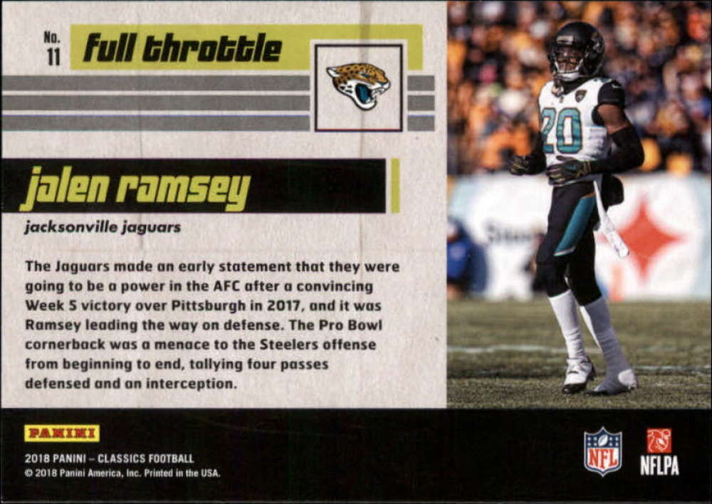 2018-Panini-CLASSICS-Football-Inserts-and-Parallels-Pick-Your-Cards-Make-Own-Lot thumbnail 113