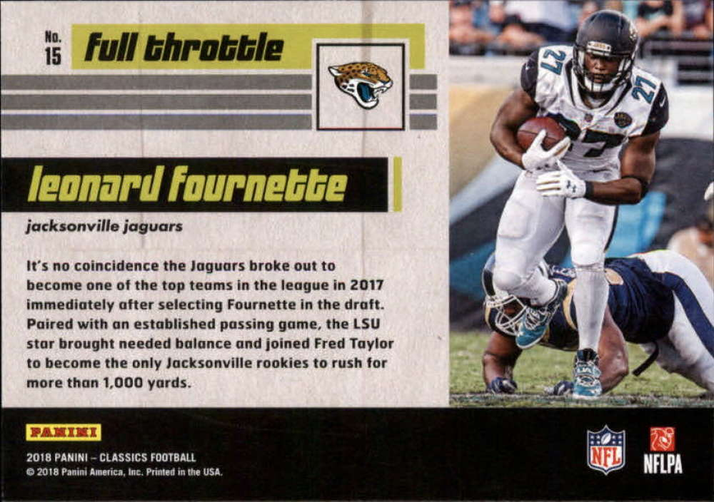 2018-Panini-CLASSICS-Football-Inserts-and-Parallels-Pick-Your-Cards-Make-Own-Lot thumbnail 121
