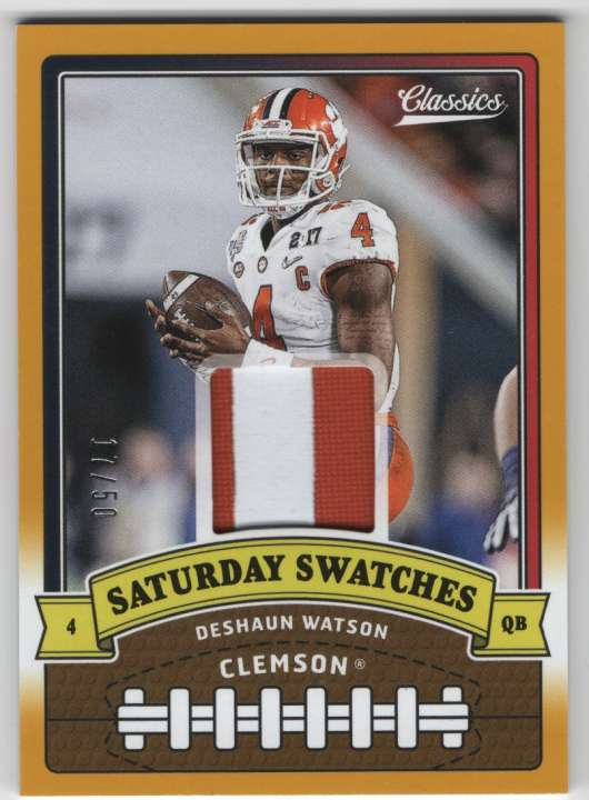 2018 Panini Classics Saturday Swatches Prime