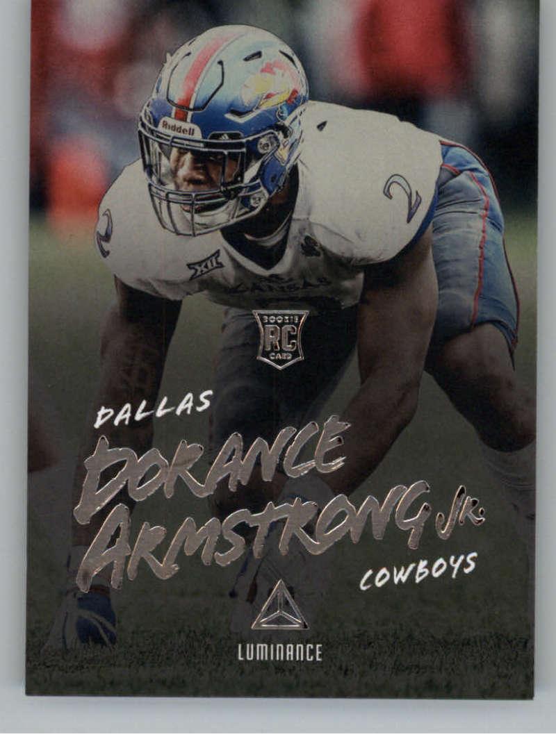 2018 Panini Luminance Luminance #134 Dorance Armstrong Jr. Rookie NM+
