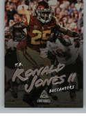 2018 Panini Luminance #184 Ronald Jones II Tampa Bay Buccaneers Rookie RC NFL Football Trading Card