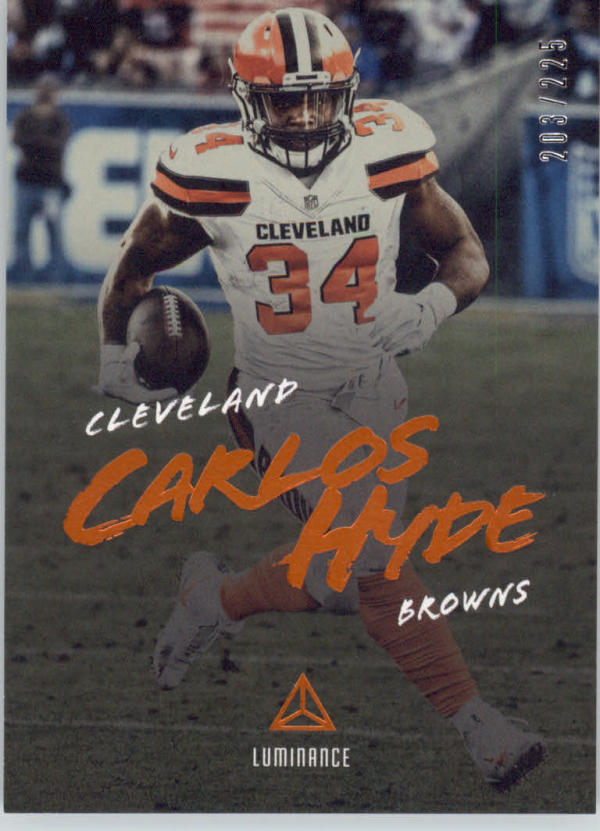 2018 Panini Luminance Luminance Orange