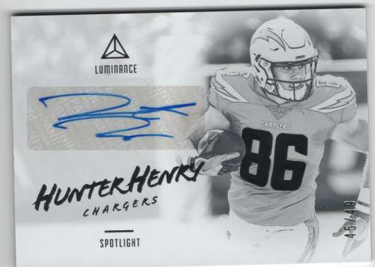 2018 Panini Luminance Spotlight Signatures