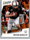 2018 Prestige NFL #236 Mason Rudolph Pittsburgh Steelers Rookie Card RC Panini Football Card