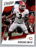 2018 Prestige NFL #253 Roquan Smith Chicago Bears Rookie Card RC SSP Super Short Print Panini Football Card