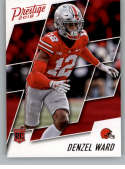 2018 Prestige NFL #275 Denzel Ward Cleveland Browns Rookie Card RC Panini Football Card