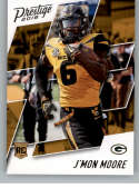 2018 Prestige NFL #278 J'Mon Moore Green Bay Packers Rookie Card RC Panini Football Card