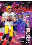 2018 Prestige NFL Stars of the NFL #ST-AR Aaron Rodgers Green Bay Packers Panini Football Card