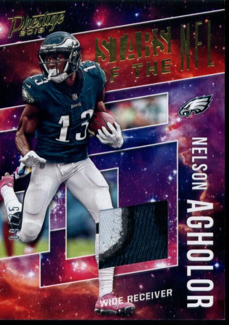 2018 Panini Prestige Stars of the NFL Jerseys Prime Gold