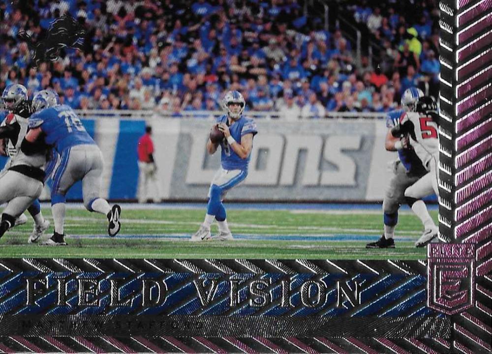 2018 Donruss Elite Field Vision Pink