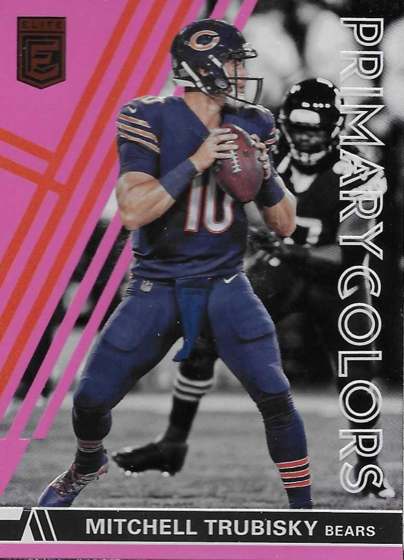 2018 Donruss Elite Primary Colors Pink