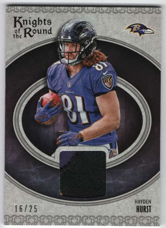 2018 Panini  Knights of the Round Rookie Memorabilia Prime