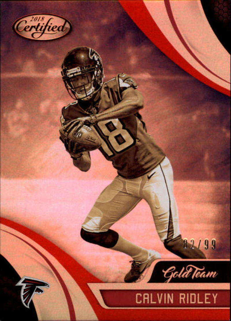 2018 Panini Certified Gold Team Mirror Red