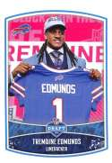2018 Panini NFL Stickers Collection #10 Tremaine Edunds RC Rookie Buffalo Bills Draft Picks Official Football Sticker