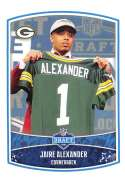 2018 Panini NFL Stickers Collection #11 Jaire Alexander RC Rookie Green Bay Packers Draft Picks Official Football Sticke