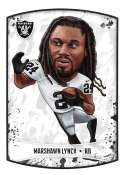 2018 Panini NFL Stickers Collection #217 Marshawn Lynch Oakland Raiders Fathead Official Football Sticker
